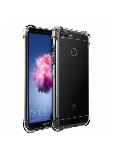 Microsonic Shock-Absorbing Kılıf Huawei P Smart  Renksiz